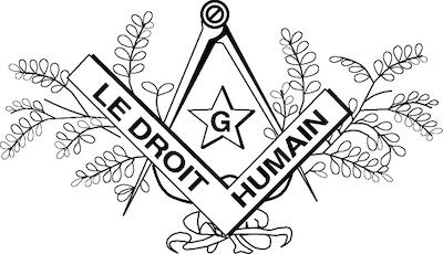 Kuvituskuva: Le Droit Humain -järjestön logo